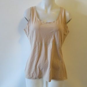 SPANX NUDE THIN- STINCTS SMOOTHING TANK SZ 2X *